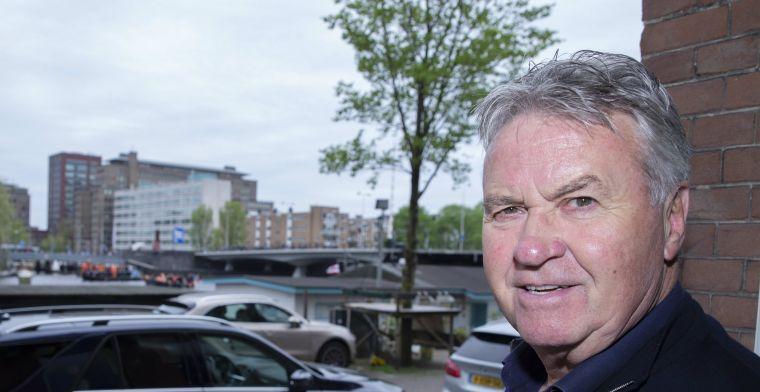 Hiddink niet geschrokken: 'Team is samengesteld door trainers en andere mensen'