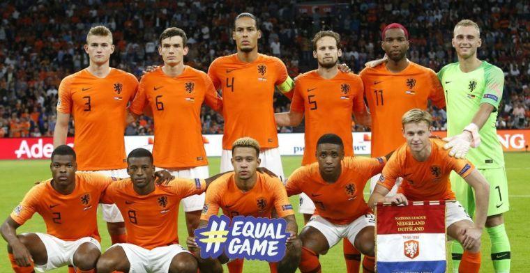 'Wat ik nu bij Nederland zie, klinkt mij bekend. Ik ben wel jaloers op dit Oranje'