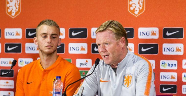 De vermoedelijke elf van Oranje: Koeman wijzigt, Danjuma versus België
