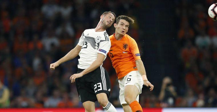 De Roon blinkt uit in Oranje: 'Kunnen nu goed zien hoe slecht Van Basten het zag'