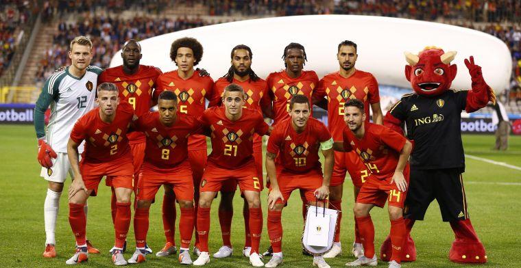 Rode Duivels raken niet voorbij Nederland in oefenwedstrijd