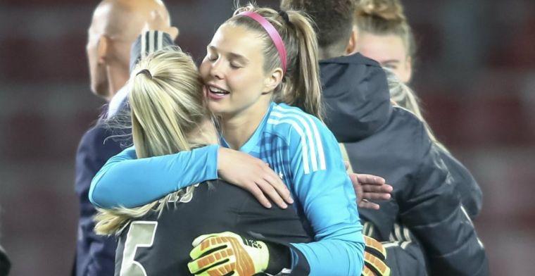 Ajax Vrouwen krijgt pak slaag en moet hopen op Champions League-wonder
