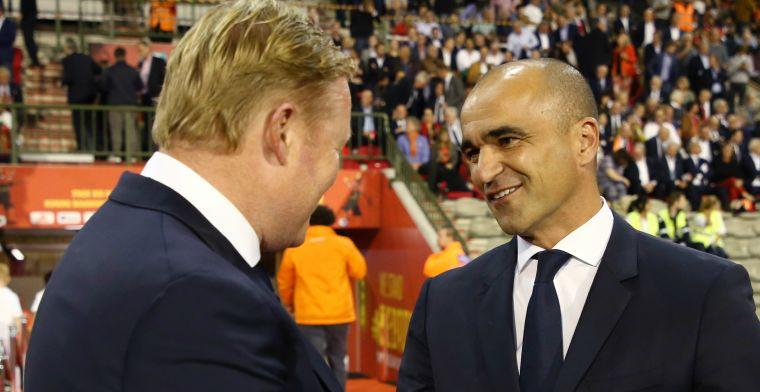Martinez prijst Nederlands elftal: 'Geen incident meer, het is anders'