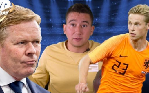 VP Today: Koeman verrast door talenten, Strootman introduceert Frenkie de Jong