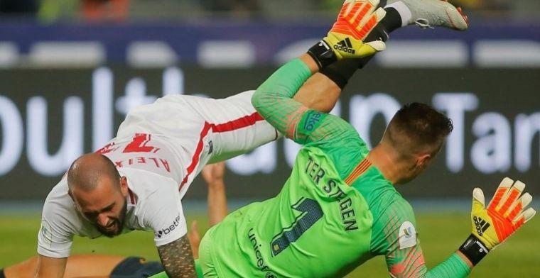 El jugador del Sevilla habla de lo que significa jugar en el Camp Nou de visitante