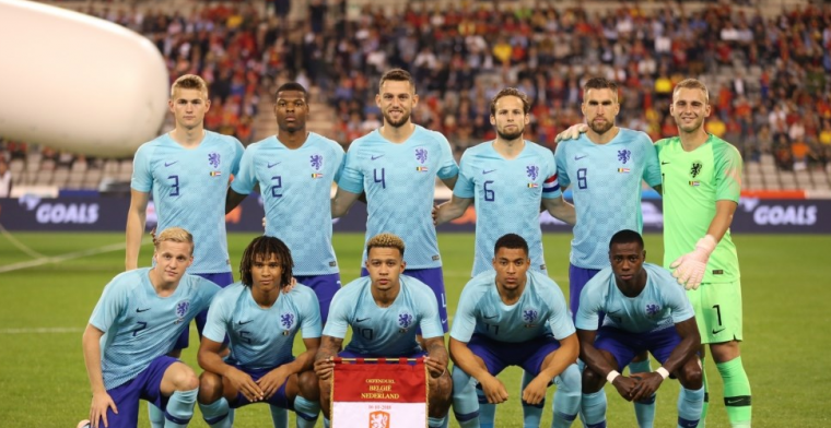 Euforie rond Nederlands elftal getemperd: 'Mazzel gehad'