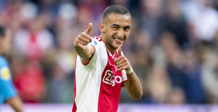 'Ajax neemt voor cruciale week geen onnodige risico's met Ziyech'