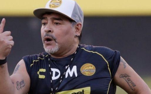 Image: La decadencia de Maradona: