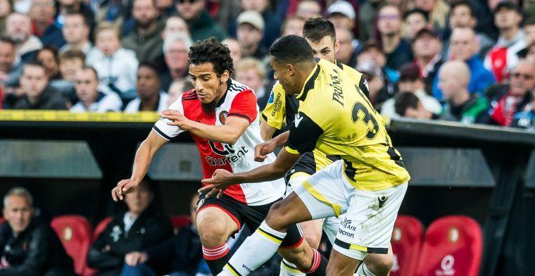 Feyenoord-reserve: 'Ik mag niet liegen: het is moeilijk. Maar trainer niet blind'