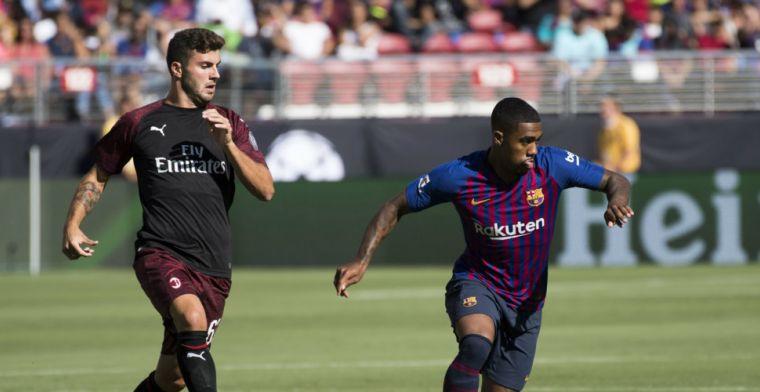 'Barcelona wil Malcom na 25 minuten alweer verkopen en kan 50 miljoen vangen'