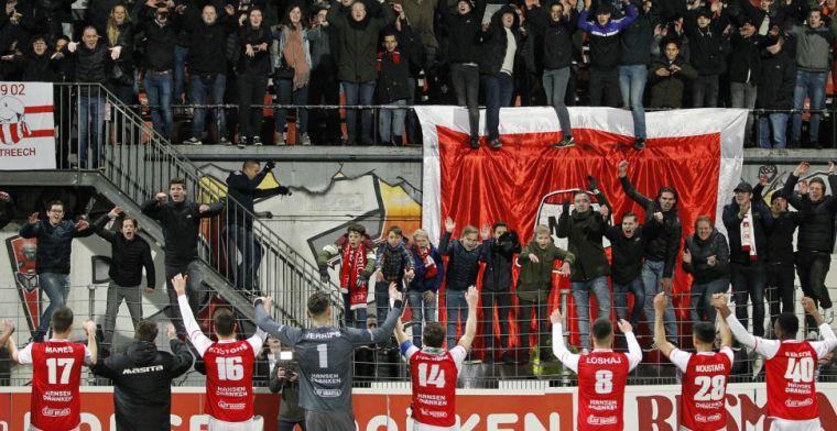 MVV-fans wéér niet welkom: 'Afspraak over 'provocerende' vlag geschonden'