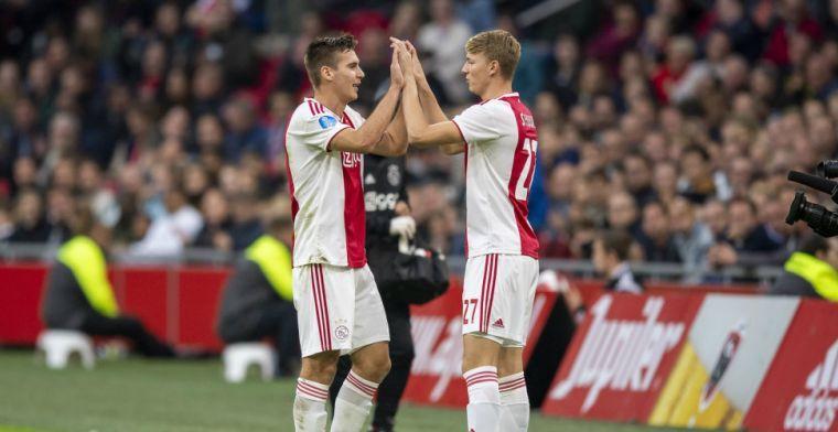 'Natuurlijk ben ik soms een beetje boos als ik lange tijd niet speel bij Ajax'