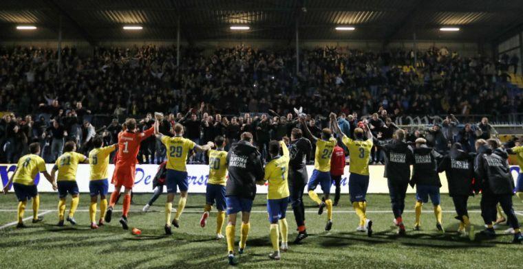 Bom onder nieuw stadion eerstedivisionist: 'Onbegrijpelijk dat ze de deur sluiten'
