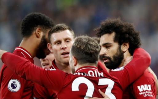 Afbeelding: Liverpool dankt Salah opnieuw en klimt naar tweede plek in Engeland