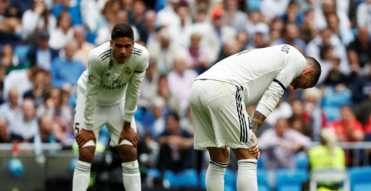 Dramatische middag voor Real Madrid: negatief clubrecord en opnieuw een nederlaag