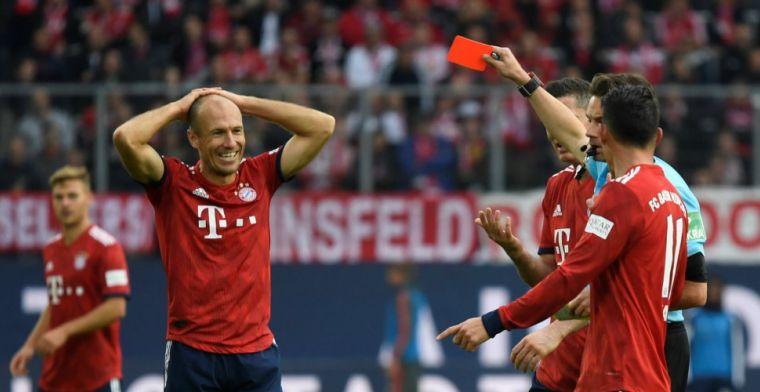 Bayern wint weer eens: hoofdrol voor 'rode' Robben en scorende Weghorst
