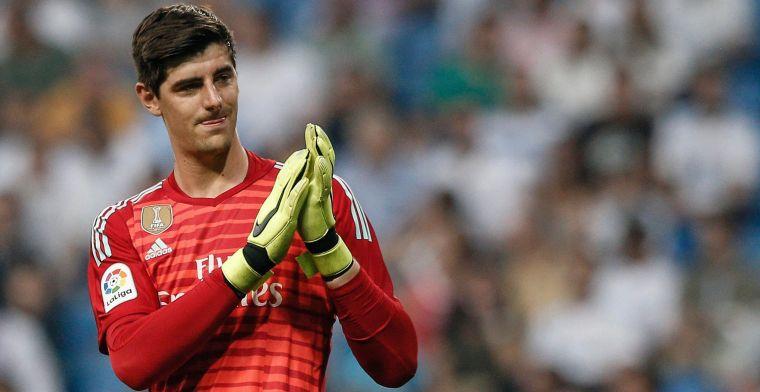 Real Madrid op eigen veld 0-2 achter, fans nemen Courtois op de korrel