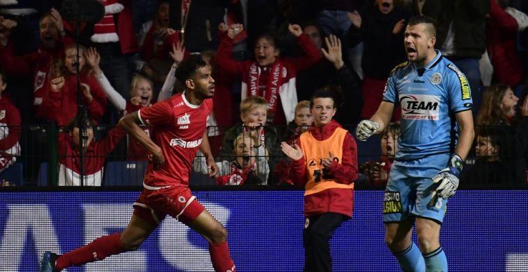 Antwerp komt met de schrik vrij en springt over Anderlecht na zege tegen Lokeren