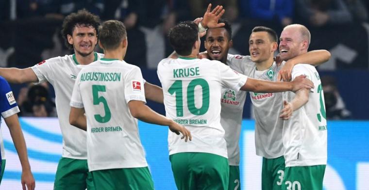 Klaassen en Werder Bremen winnen opnieuw en staan in de top van de Bundesliga