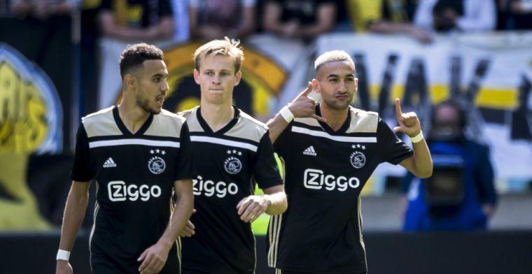 LIVE-discussie: De Jong en Ziyech fit genoeg om te beginnen, Mazraoui op de bank