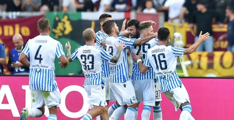 Invaller Kluivert ziet kansloos AS Roma opnieuw verliezen