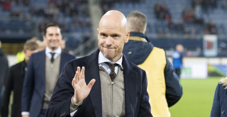 Ten Hag plaatst kanttekening bij 'perfecte' zege Ajax: 'Enige wat ontbreekt'