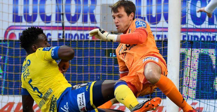 """Roef zag kansen tegen Club Brugge: """"Misschien zat er wel meer in"""""""