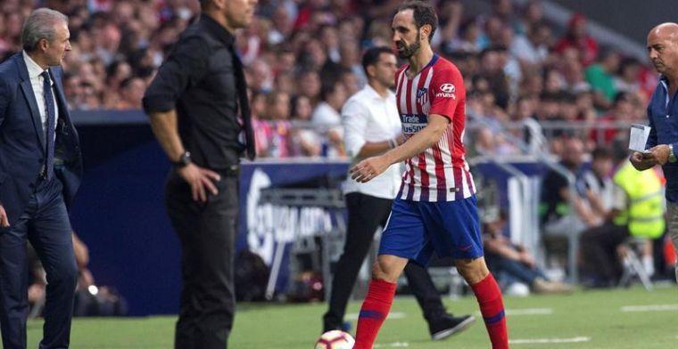 El primer jugador en cumplir ciclo de tarjetas en el Atlético