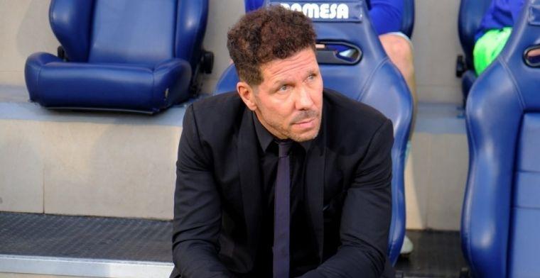 Simeone: El punto es importante y la Liga está bárbara