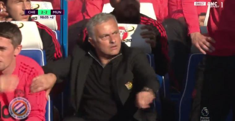 Woeste Mourinho laat zich uitdagen door Chelsea-staflid: beveiliging grijpt in