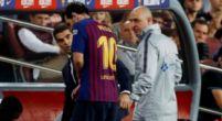 Imagen: CRÓNICA | Caro liderato para un Barcelona que pierde a Messi
