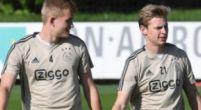 Imagen: De Jong quiere seguir jugando con De Ligt fuera del Ajax