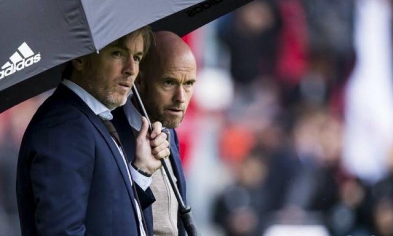 Afbeelding: Witschge in technische staf Ajax: