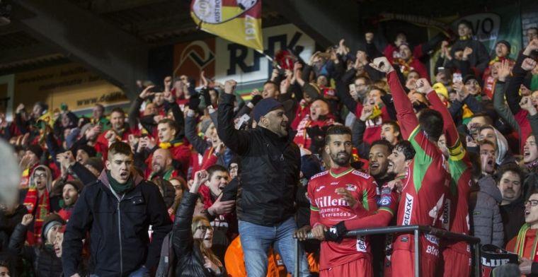 Fans Oostende en Gent spannen samen om signaal te geven in omkoopaffaire