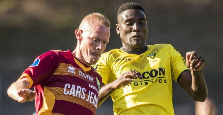VVV-Venlo klimt naar vijfde plek door eerste Eredivisie-doelpunt van spits