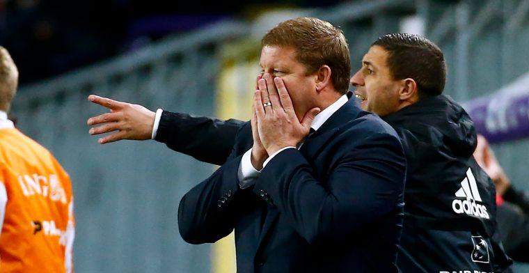 """Vanhaezebrouck heeft nog tijd: """"Dan is het pas echt crisis bij Anderlecht"""""""