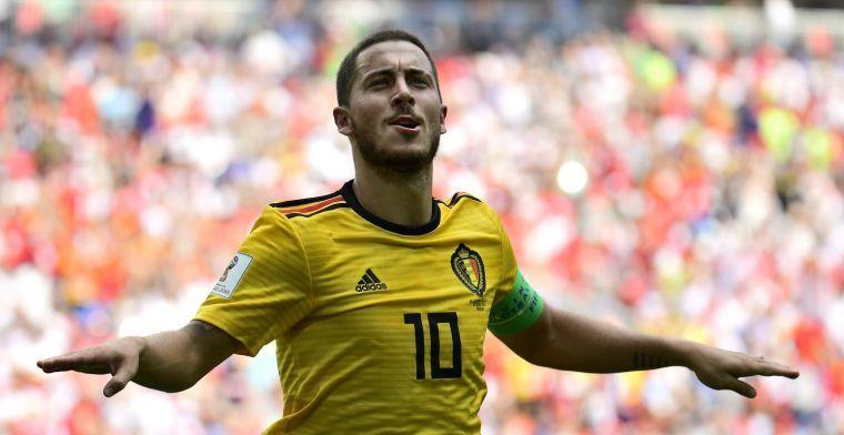 Mourinho reageert op 'lieve woorden' van Hazard: Altijd goeie relatie gehad
