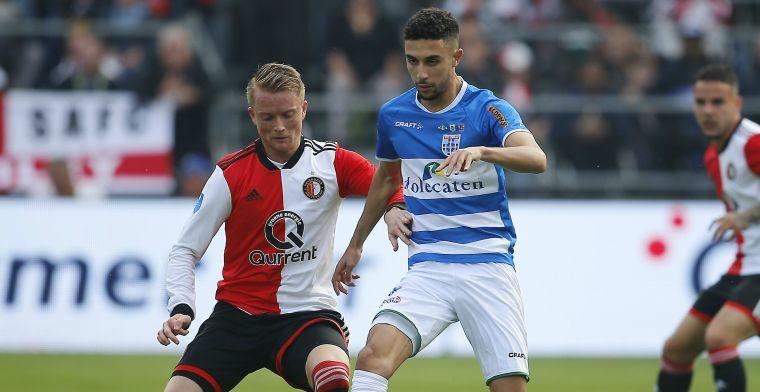 Feyenoord-aanvaller heeft nog steeds niet gescoord: 'Het is weer de paal'