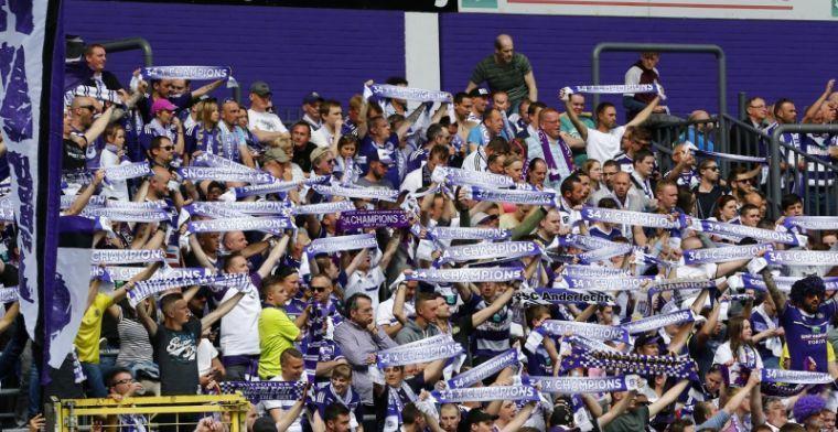 Anderlecht komt met positief statement: 'Tribunes vullen met waardering'