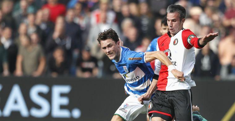 Morrende Feyenoord-fans in De Kuip: 'Natuurlijk hebben ze kans tegen Ajax'