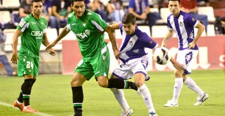 OFICIAL | Los onces de Betis y Valladolid en el Benito Villamarín