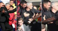 Imagen: El amago de pelea de Mourinho con un integrante del banquillo del Chelsea