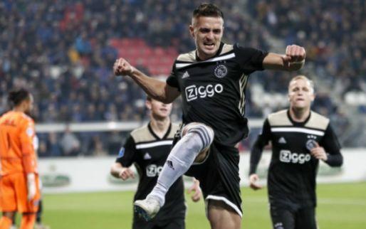 Tadic niet blij met Eredivisie-bal: 'We hebben het daar vaak over bij Ajax'
