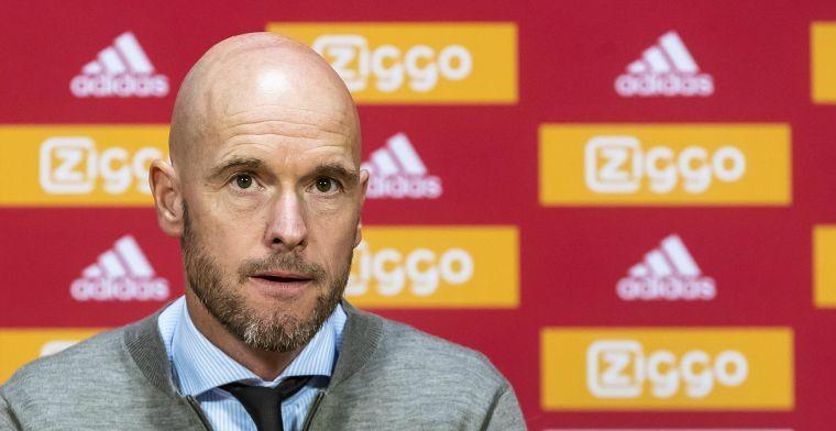 Ten Hag onder de indruk van Benfica: 'Dat is het grootste verschil met Ajax'