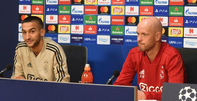 Ziyech heeft 'nu-of-nooit-gevoel' bij vriendenteam Ajax: 'In 2016 ook gezien'