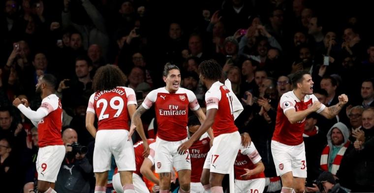 Arsenal dankt weergaloze Özil en stuurt publiek tevreden naar huis