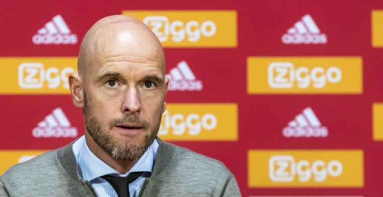 Ten Hag dient Verbeek van repliek en hoopt op duo: 'We moeten afwachten'