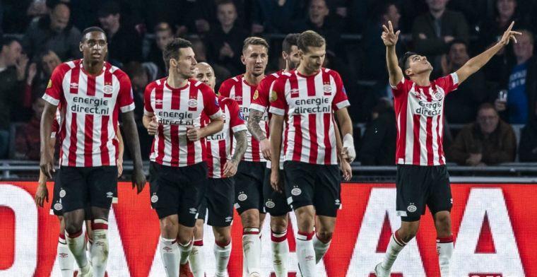 'Geen tegenstander in de Eredivisie waar ik PSV van zie verliezen, hooguit Ajax'