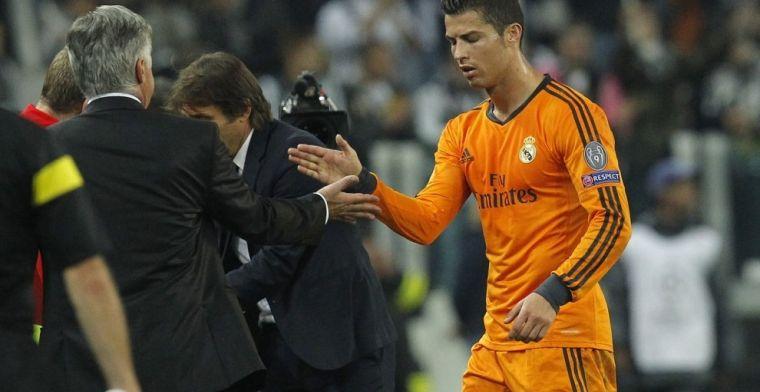 Ancelotti: El único error de Cristiano es haber ido a la Juve
