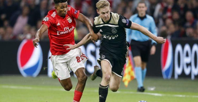 Mazraoui helpt Ajax in minuut 93 aan cruciale Champions League-zege